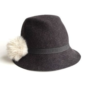 Santelli Francesca [Anthropologie] Wool Hat w/Pom